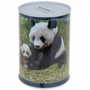 Dieren spaarpot panda 15 cm