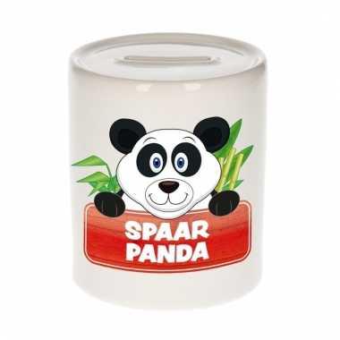 Dieren spaarpot panda 9 cm