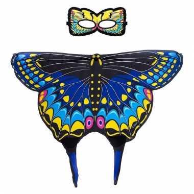 Dieren verkleedset zwaluwstaartvlinder 10090508