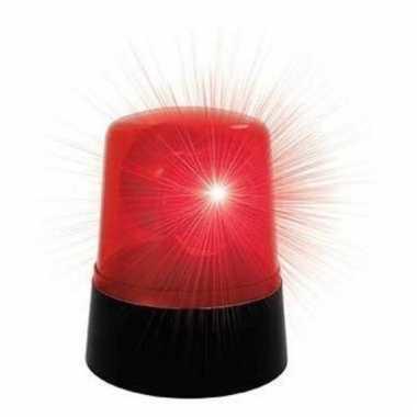 Discolamp zwaailicht roterend 9 x 11cm