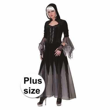 Dolores halloween verkleedjurk zwart