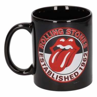 Drinkbeker rolling stones est 1962