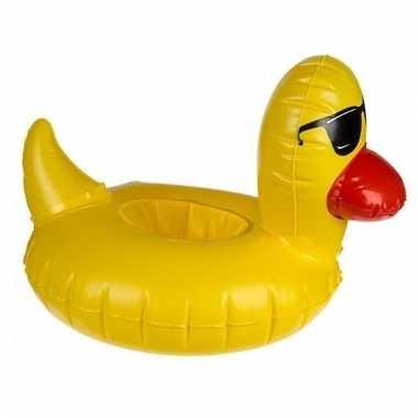 Eend drankhouder zwembad 14 cm