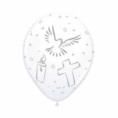 Eerst communie ballonnen 8 stuks