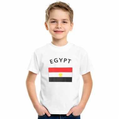 Egyptisch vlaggen t-shirt voor kinderen