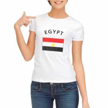 Egyptische vlaggen t-shirt voor dames
