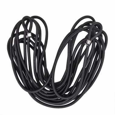 Elastisch koord zwart 7 meter