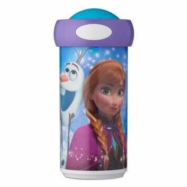 Elsa en anna anti-lek schoolbeker 275 ml