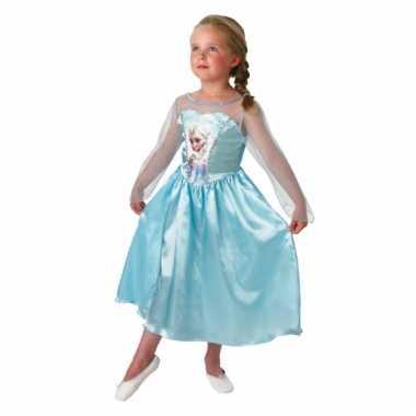 Elsa frozen jurk voor kinderen