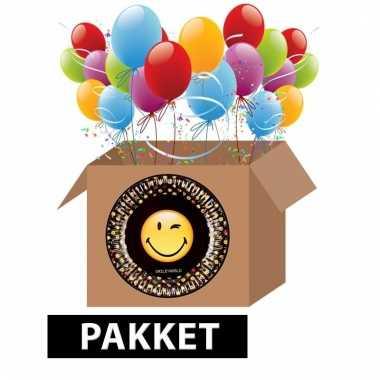 Emoji thema feest pakket