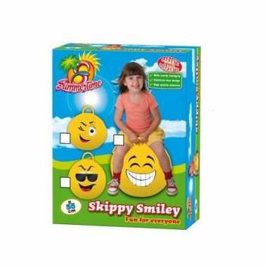 Emoticon skippy bal