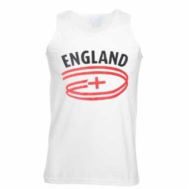 Engeland vlaggen tanktop voor heren