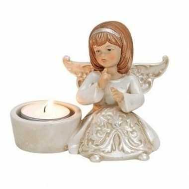 Engelen figuur kaarsenhouder type 212 cm