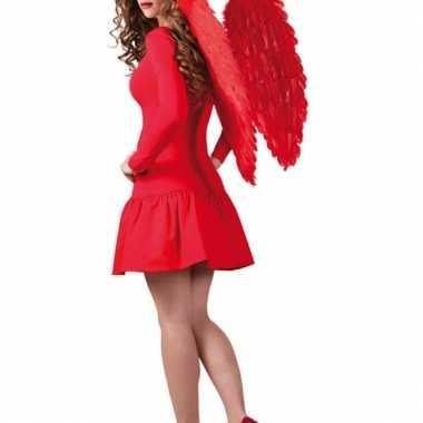 Engelen vleugels rood 65 x 65
