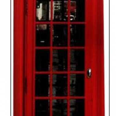 Engelse telefoon cel decoratie bord