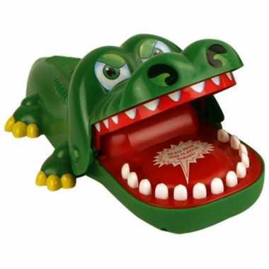 Familiespel bijtende krokodil