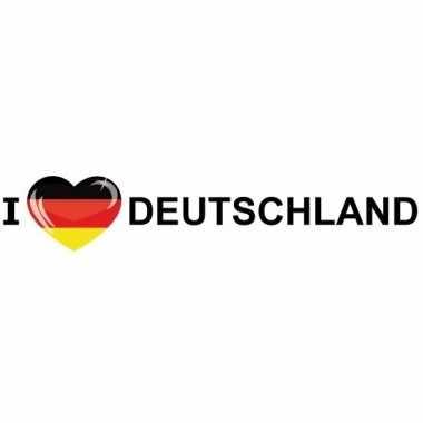 Fan sticker deutschland van papier