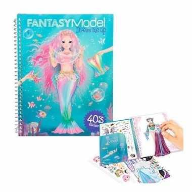 Fantasy topmodels aankleed stickerboekje 10109819