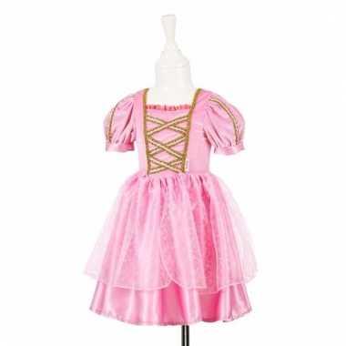 Feeen jurkje roze met kant