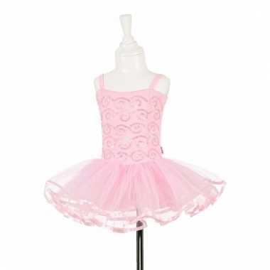 Feeen jurkje roze met pailletten