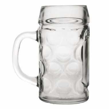 Feest bierpullen 1 liter