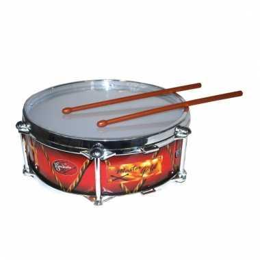 Feest drum met stokjes 32 cm
