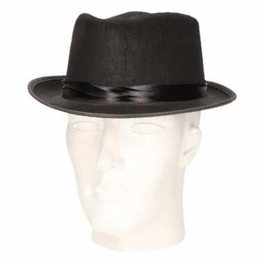 Feest hoed andre hazes zwart voor volwassenen