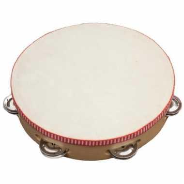 Feest tamboerijn met vel en cimbaaltjes
