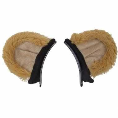 Feest/verkleed dierenoren leeuwtjes voor kinderen