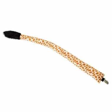 Feest/verkleed dierenstaart giraf 68 cm
