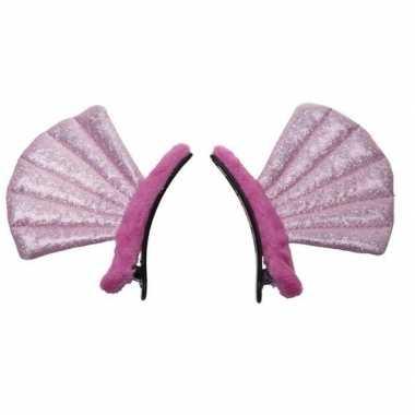 Feest/verkleed oren schelpjes voor meisjes/kinderen