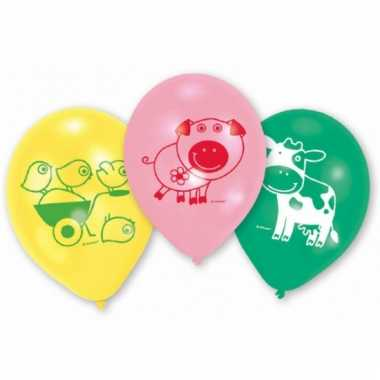 Feestballonnen boerderij