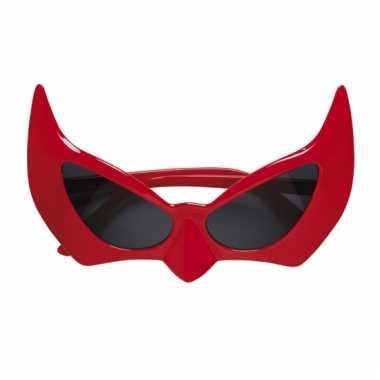 Feestbril voor een duivel