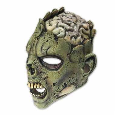Feestmasker horror open hersenen