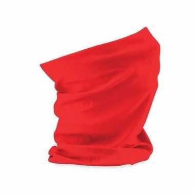 Fel rode morf sjaal beechfield