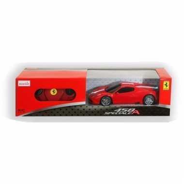Ferrari 458 speciale rood speelgoed auto met afstandsbediening 1:24