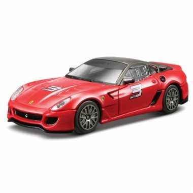 Ferrari 599 xx rood schaalmodel 1:43