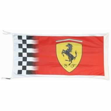 Ferrari merchandise vlaggen 150 x 75 cm