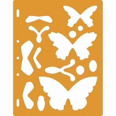 Figuur sjablonen vlinders