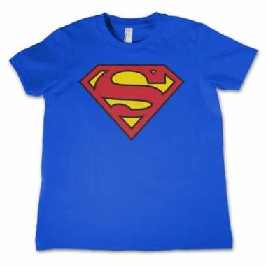 Film shirt superman logo kids