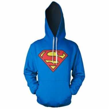 Film sweater superman logo heren