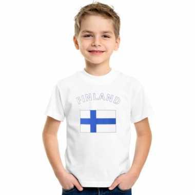 Finse vlaggen t-shirts voor kinderen