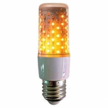 Firelamp vuurlamp peertje wit e27 fitting onder of boven