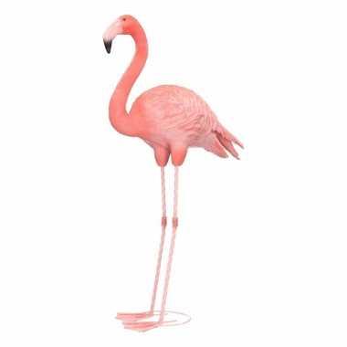 Flamingo huiskamer beeld 65 cm