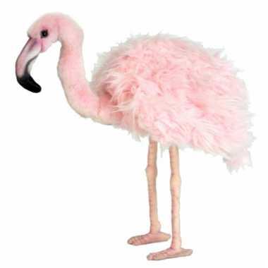Flamingo knuffeldier 38 groot