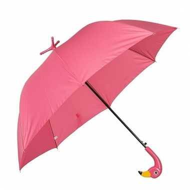Flamingo paraplu 96 cm