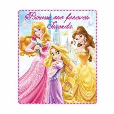 Fleece deken disney princess voor meisjes