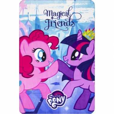 Fleece deken my little pony vrienden voor meisjes