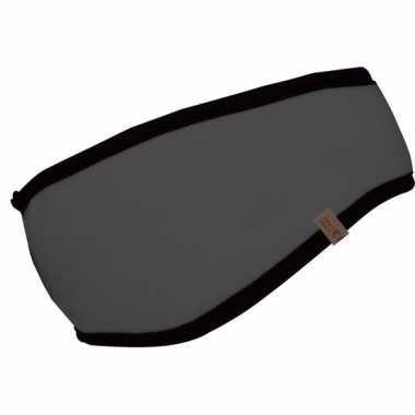 Fleece hoofdband grijs voor dames/heren