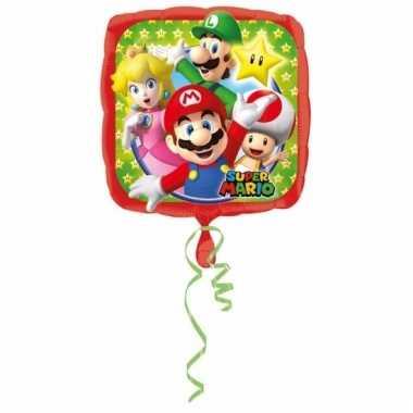 Folie ballonnen super mario43 cm